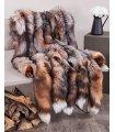 XL Crystal Fox Fur Pelts / Tanned Skins