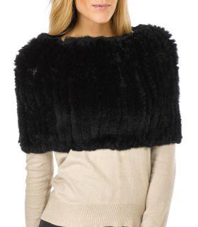 Genuine Rabbit Fur Infinity ScarvesWrap