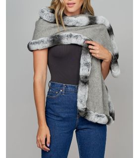 Chinchilla Fur Wraps & Shawls