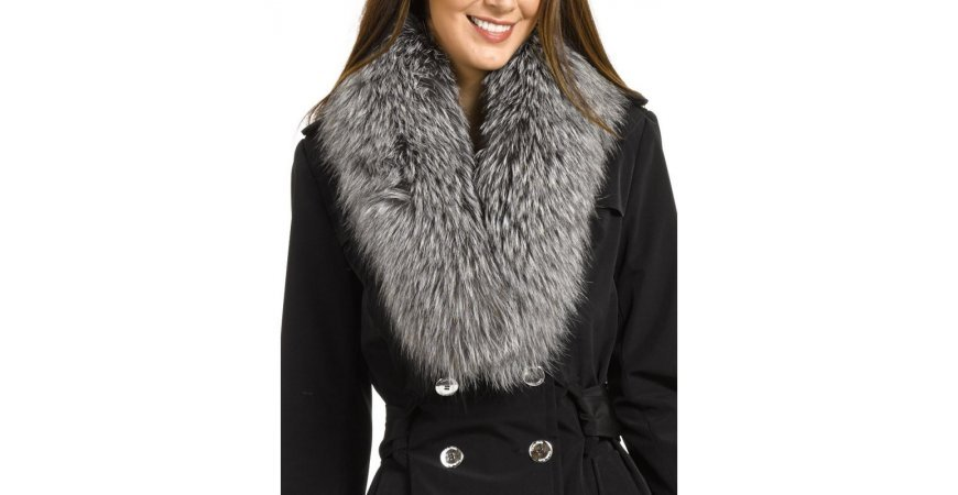 Update your winter parka with a fur trim collar
