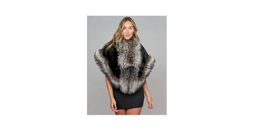 5 simple elegant ways to wear fur stole